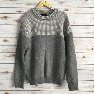 Cotton On L Gray Pullover Sweater Size Large